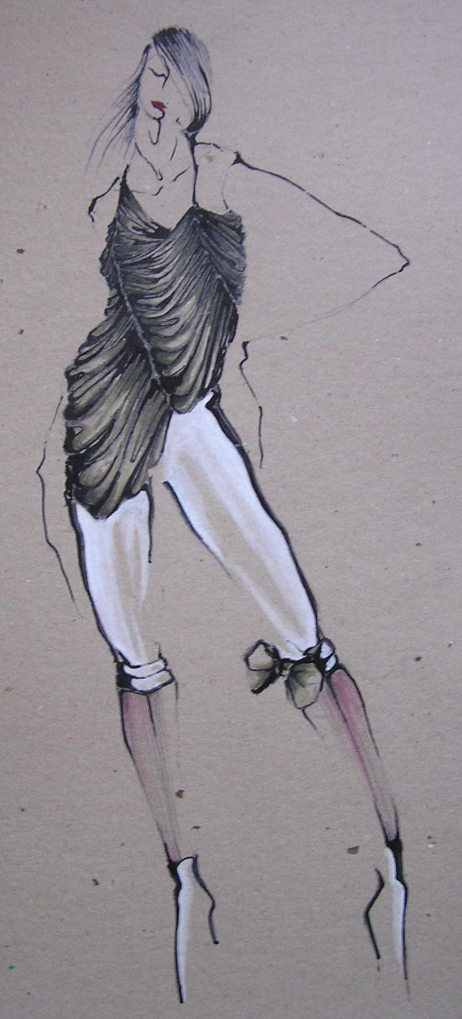 Modern baroque dress by nadiablaho on deviantart for Modern baroque art
