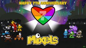 7th Anniversary of Mixels