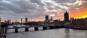 Atardecer de Londres by DreamHumanSacrifice