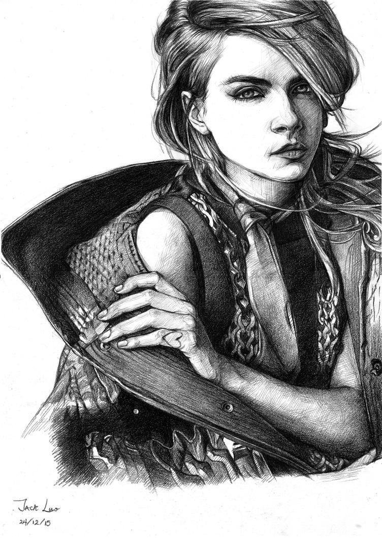 Cara Delevigne by JackXYZ