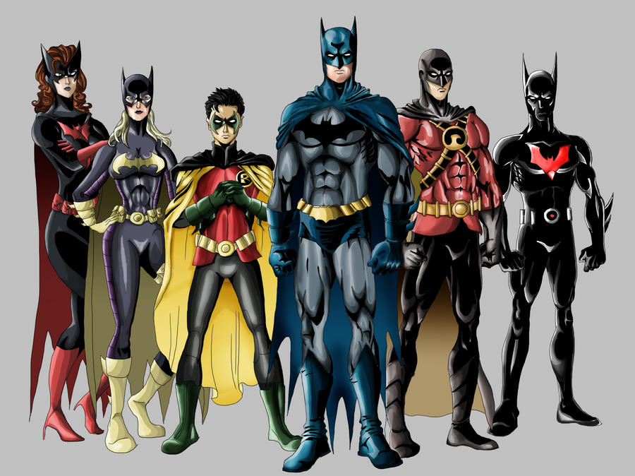 the bat family by richy-richy