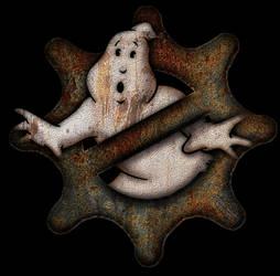 Steampunk Ghostbusters Logo by BadArtKyle