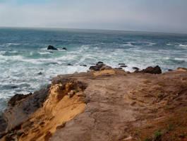 Beach Path by Nala-stock