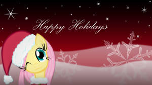 Happy Holidays from Fluttershy!