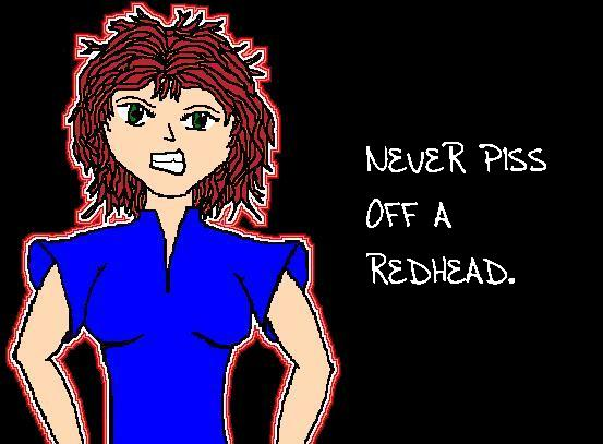 Redhead by CarrotGirl