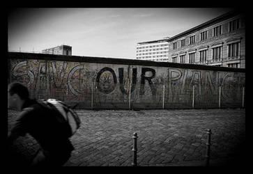 Berlin wall by AnteAlien