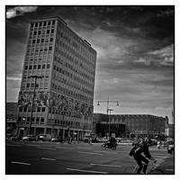 Alexander Platz - Berlin by AnteAlien