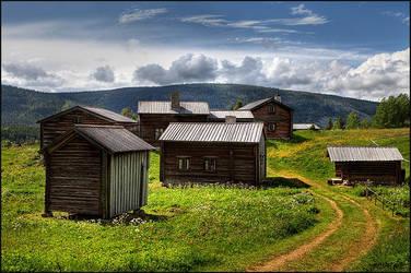 Old farm by AnteAlien