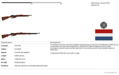 Geweer M.95 rifle [NE-OTL]