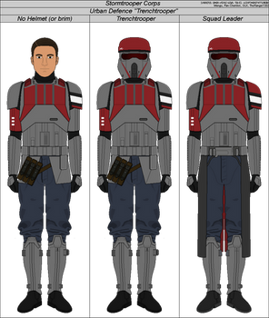 Urban Defense 'Trenchtrooper' [SW]