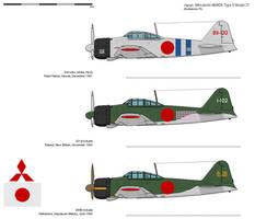 Mitsubishi A6M2b Type 0 Model 21 [JA-OTL]
