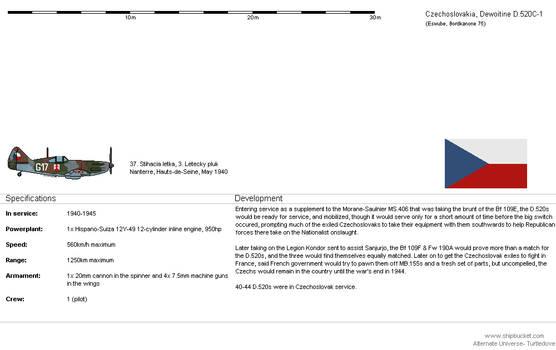 Dewoitine D.520C-1 [CZ-AH]
