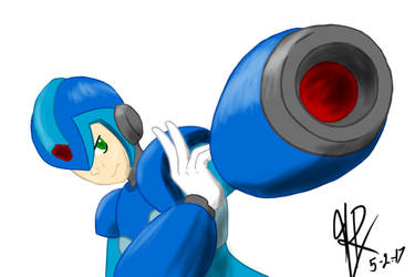 Megaman by HighwindRemix