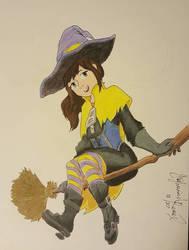 Witch Hat Kid by HighwindRemix