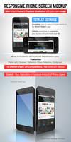 Responsive Phone Screen Mockup by Dee-A