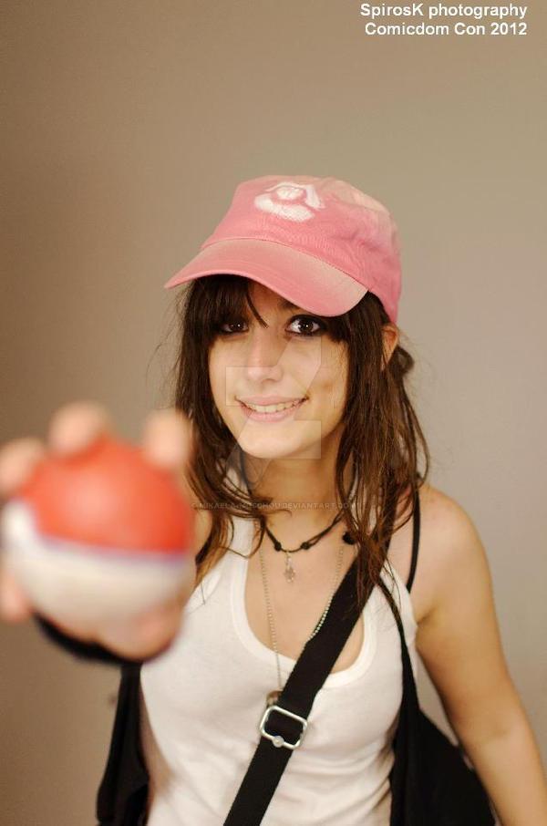 Pokemon Trainer Hilda 3 Cosplay By Mikaela Moschou by Mikaela-Moschou