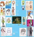 My Characters Chart