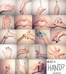 Need a Hand? by lady-leliel