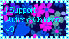 Autistic Child Stamp by Sanosukeskitten