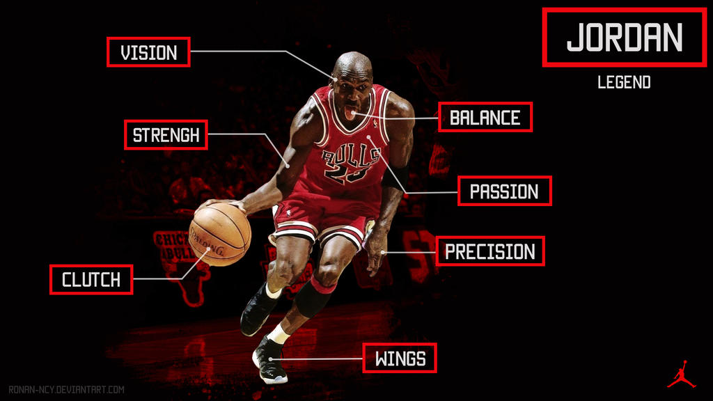 Michael Jordan Wallpaper by rOnAnNcy on DeviantArt