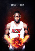 Dwayne Wade : Bring The Heat