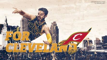 Dellavedova Wallpaper : For Cleveland by rOnAn-Ncy
