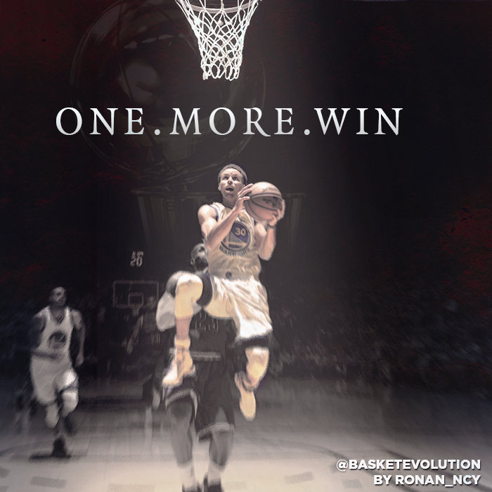 Stephen Curry One More Win By ROnAn Ncy