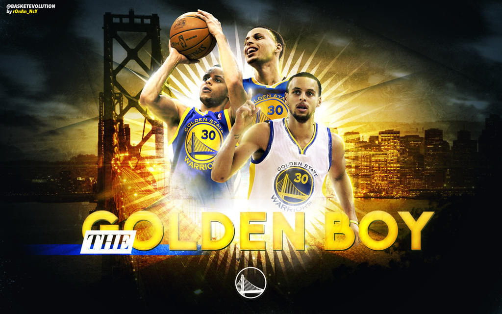 Stephen Curry Wallpaper The Golden Boy By ROnAn Ncy