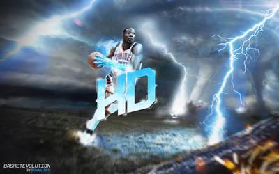 Kevin Durant : Bring the Thunder by rOnAn-Ncy