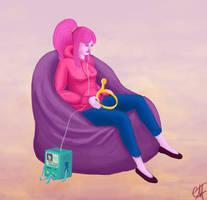 Princess Bubblegum by Garula
