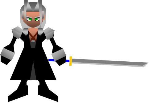 Sephiroth with masamune :CC: by ZFShadowSOLDIER on DeviantArt
