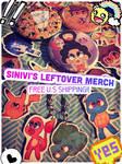 .sinivi's leftover merch sale. by sinivi