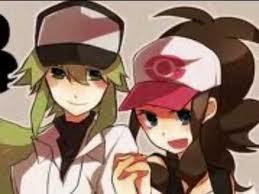 N and Touko by victini567