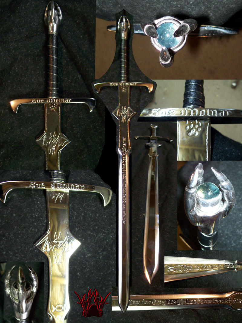 Molnar Sword Finished by deathatsix