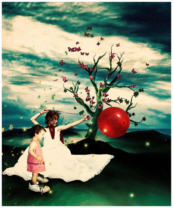 moonchild and sunchild by littlemissfreak