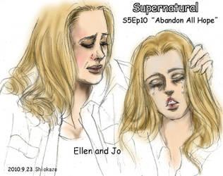 SPN5.10 Ellen Jo rough sketch by noji1203