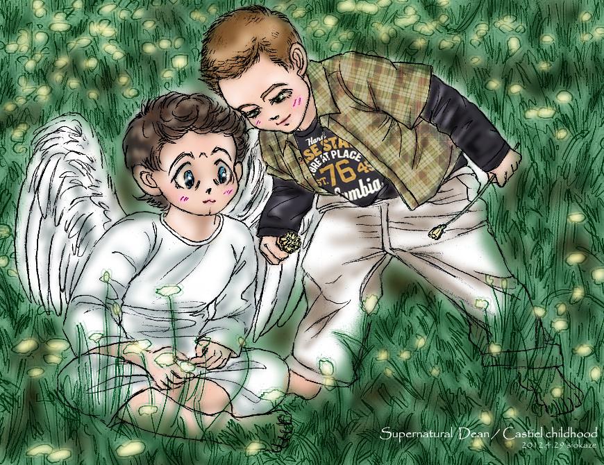 Dean and castiel yaoi dean and castiel childhood