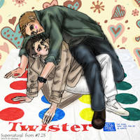 SPN fanfic: we should play Twister from S7.23 by noji1203