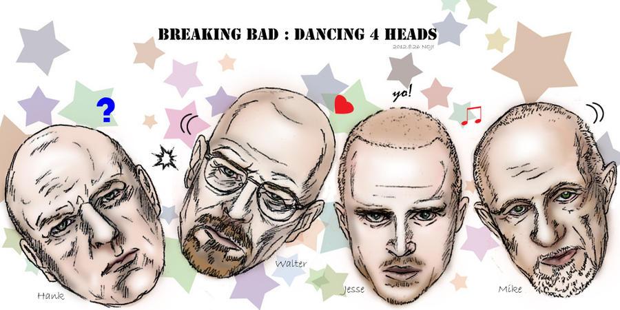 Breaking Bad : Dancing 4 heads by noji1203