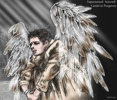 Supernatural S8 first-image : Castiel in Purgatory by noji1203