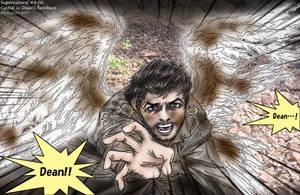 Supernatural S8.02 : Castiel in Dean's flashback by noji1203