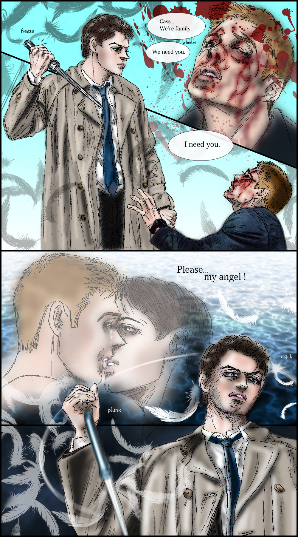 Supernatural S8.17 Destiel fanfic :I need you by noji1203 ...  Supernatural S8...