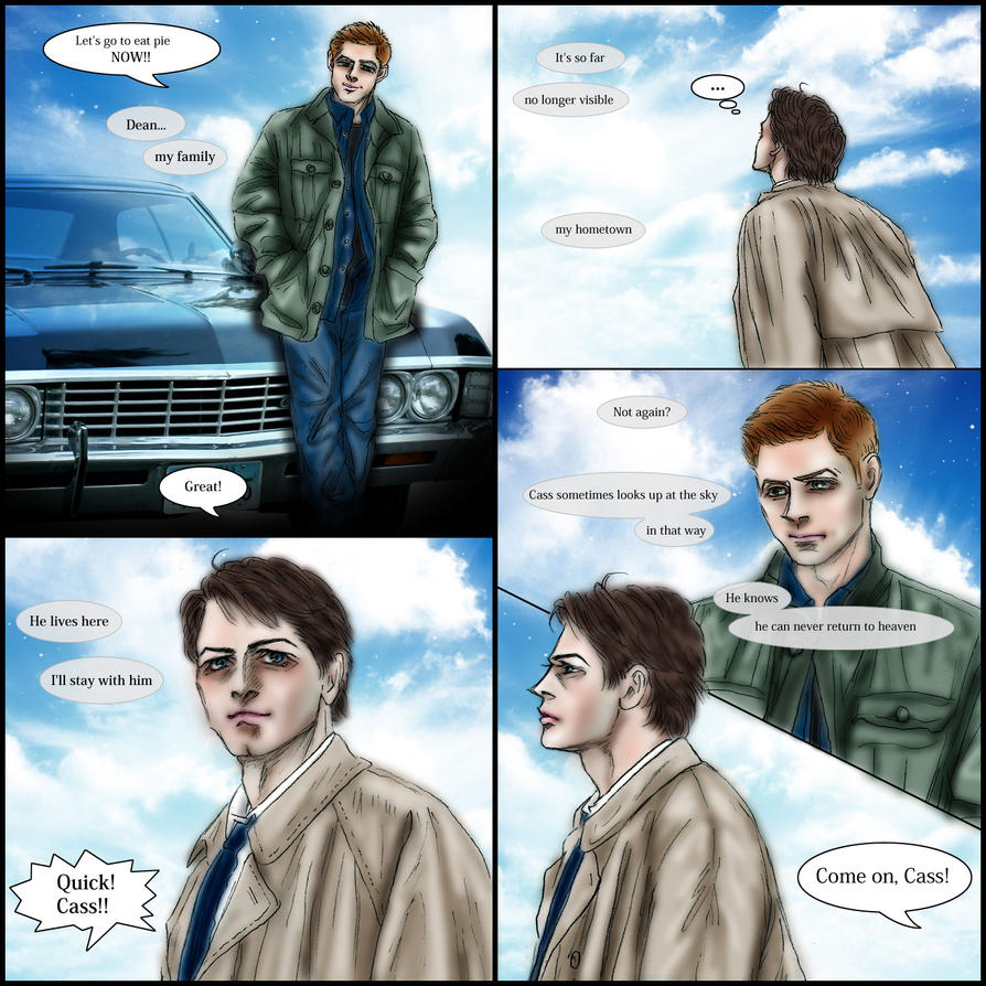 Supernatural fanfic just after S8.23 : My Family by ...  Supernatural fa...