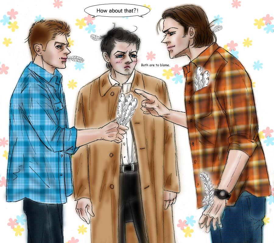 Supernatural fanfic Sam vs Dean : Love battle by noji1203 ... Supernatural Fanfiction