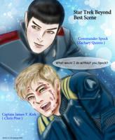Star Trek Beyond Best Scene