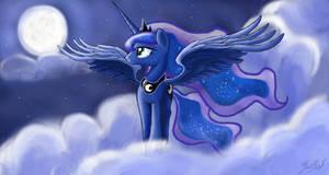 Princess Luna: walk with the moon