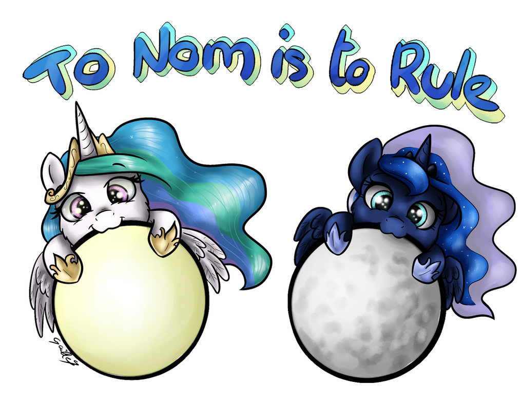 To Nom is to Rule by GaelleDragons