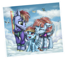 Family photo by GaelleDragons