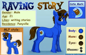 [Gift] Reference Raving Story by GaelleDragons