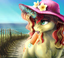 Summer Sunset by GaelleDragons
